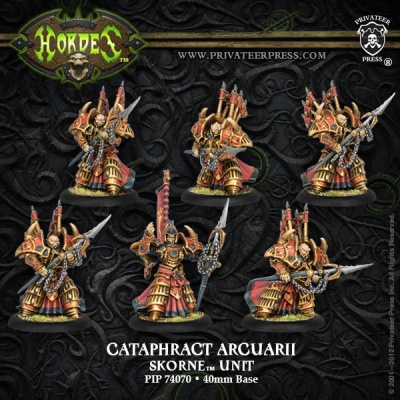 Skorne Cataphract Arcuarii Unit Box (6)