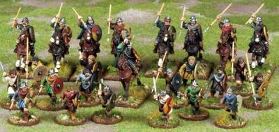SAGA - Carolingian Franks Warband