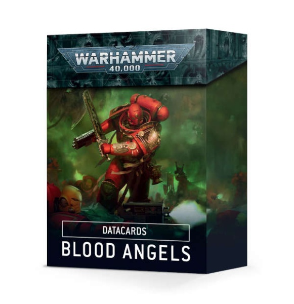 Warhammer-40.000-Datakarten: Blood Angels