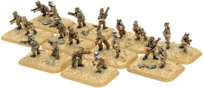 LRDG / SAS Dismounted Patrols
