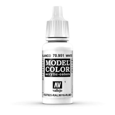 Model Color 001 Weiss (White) (951)
