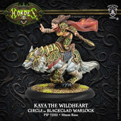 Circle Warlock Kaya the Wildheart (Resin)