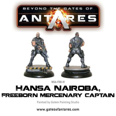 Hansa Nairoba, Freeborn Mercenary Captain