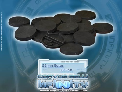 Infinity 25mm Bases (20)