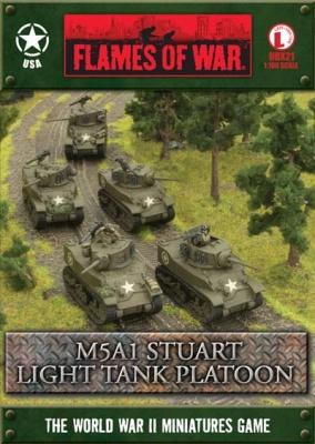 M5A1 Stuart Platoon OOP