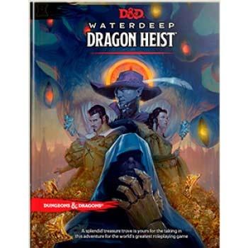 Dungeons & Dragons: Adventure Waterdeep - Dragon Heist (HC)