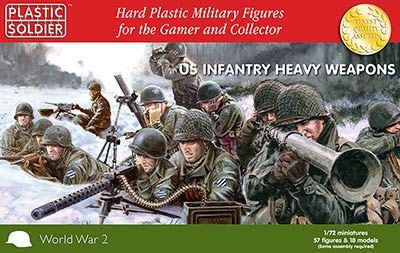 1/72nd US Infantry Heavy Weapons 1944-45