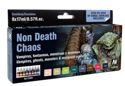 Vallejo Game Color: Game Color Set: Non Death Chaos (8)