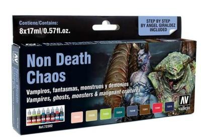 Vallejo Game Color: Game Color Set: Non Death Chaos (8)