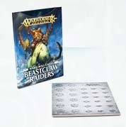 Warscroll Cards: Beastclaw Raiders (Deutsch)
