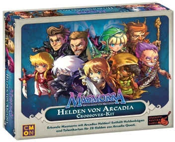 Masmorra-Helden von Arcadia (Crossover-Kit) Erweiterung dt.