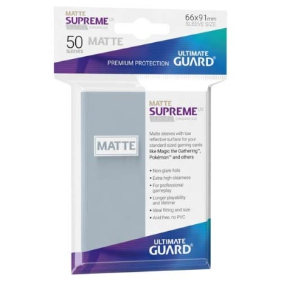 Supreme UX Sleeves Standard Matte - Frosted (50)