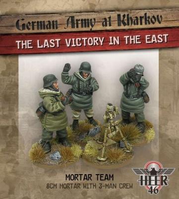 Kharkov 8 cm Mortar Team