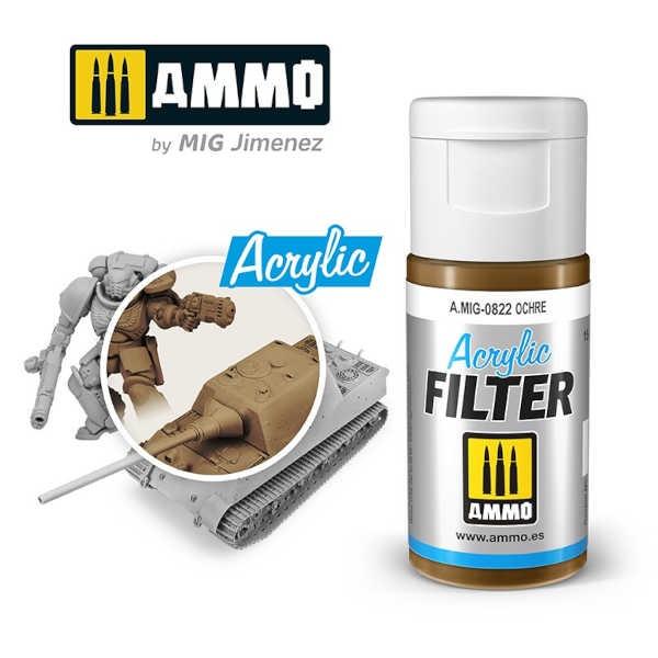 ACRYLIC FILTER Ochre (15ml)