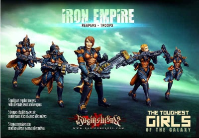 Iron Empire - Reapers - Troops (5) (IE)