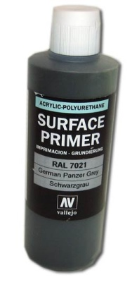 Vallejo Primer German Panzer Grey (Polyu.) (200ml)