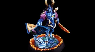 Daemonic Kingdom Magelord on foot