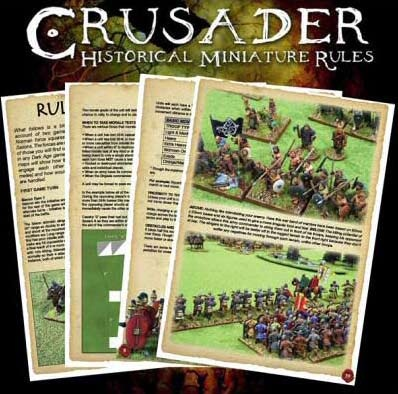 Crusader: Rules for historical Wargames