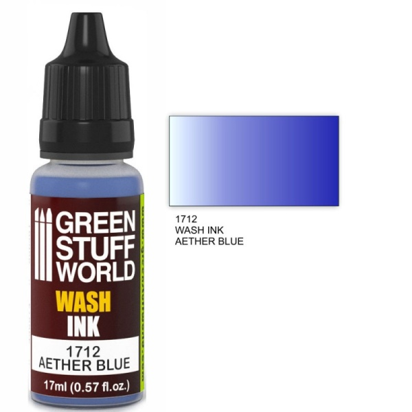 Wash Ink AETHER BLUE