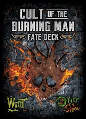 The Other Side: Cult of the Burning Man Fate Deck