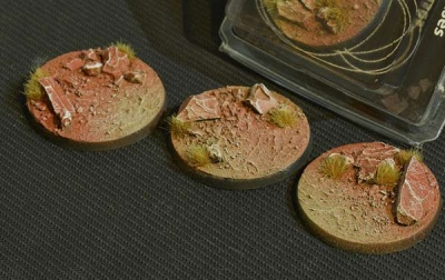 Badlands Bases - Round 50mm (3)