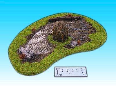 Geländestück Moor