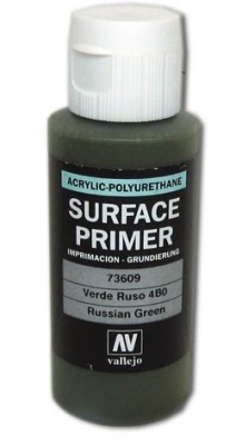 Vallejo Primer Russian Green (Polyurethane) (60ml)