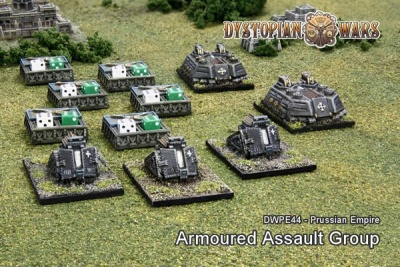 Prussian Empire Armoured Assault Group (11)