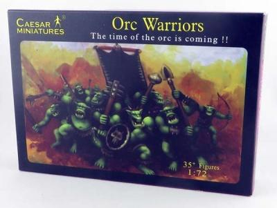Caesar Miniatures: Orc Warriors Set (1/72)