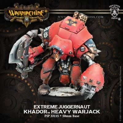 Khador Warjack Extreme Juggernaut