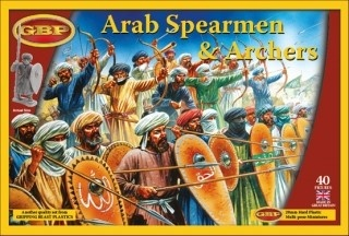 Arab Spearem & Archers (40)