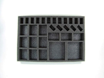Dystopian Wars Armoured Battle Group Foam Tray 1""