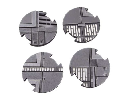 SWL Space Station Bases 50mm (4)