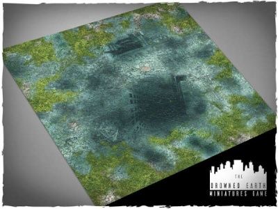 Game mat - Drowned Earth 3x3