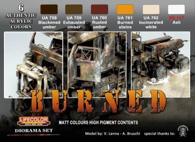 """Camouflage Set  """"Burned"""""""