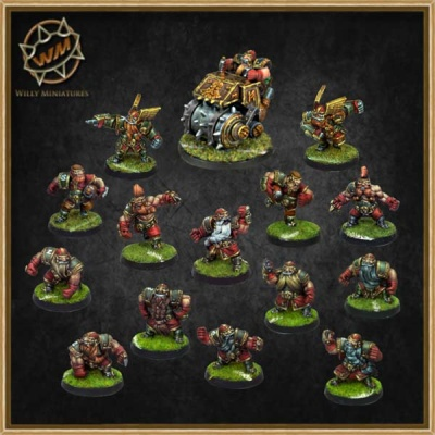 Dwarf Team (15)
