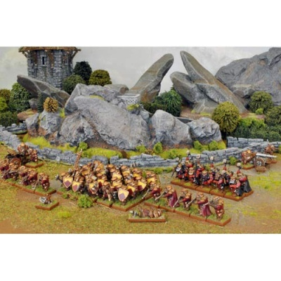 Dwarf One Player Battle Set (44 Figures)