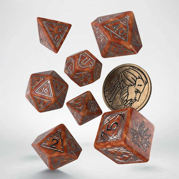 The Witcher Dice Set. Geralt - The Monster Slayer (7)