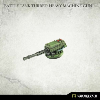 Battle Tank Turret: Heavy Machine Gun (1)