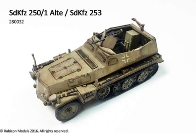 SdKfz 250/1 Alte/SdKfz 253 (1/56)