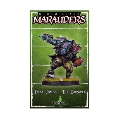 Papa Jambo The Thrower (32mm)