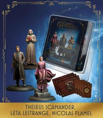 Theseus Scamander & Leta Lestrange & Nicolas Flamel