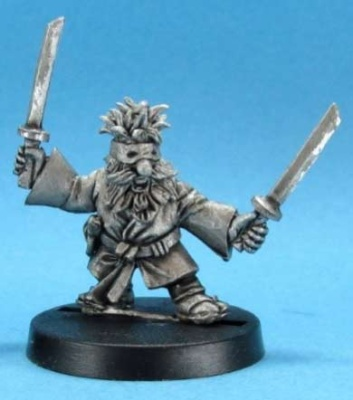 Snorri the Furtive - Dwarf Assassin