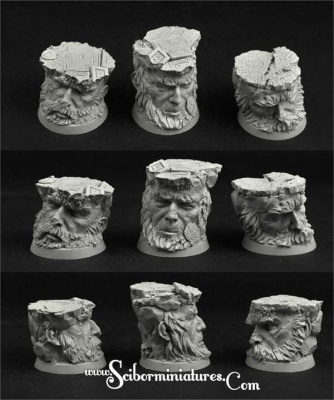 Celtic Ruins 32mm round bases set1 (3)