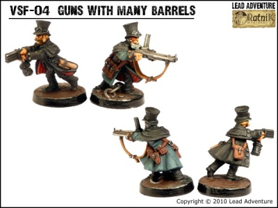 Guns with many barrels (2)