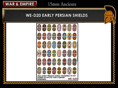 Early Persian shields