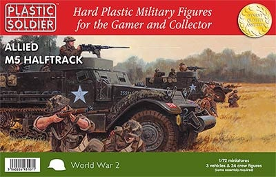 1/72: Allied M5 Halftrack (3)