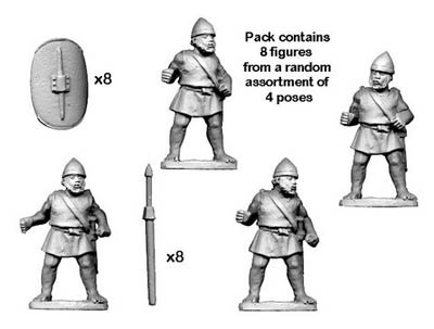 Numidian Imitation Legionaries (8)