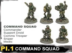 Infantry Command Squad (5)