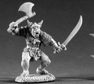 Orc Warrior of Kargir